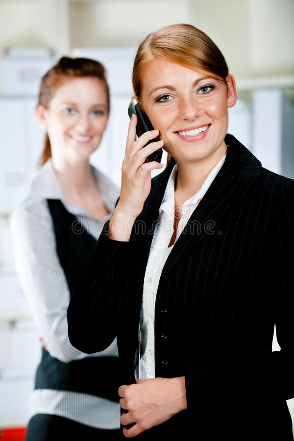 Caucasian Businesswomen royalty free stock images
