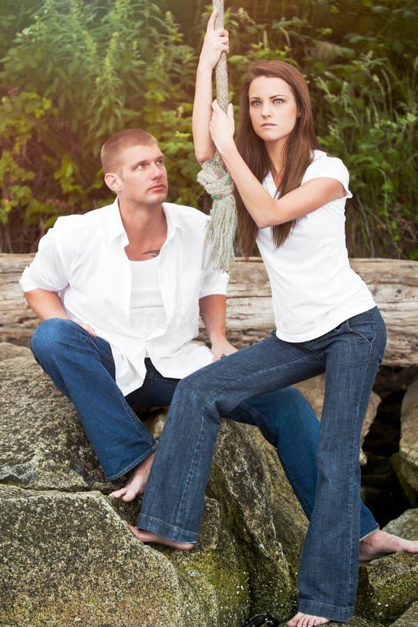 Caucasian Couple Stock Photography
