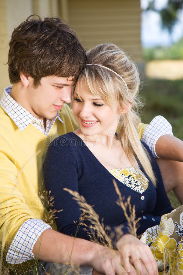 Caucasian Couple In Love Royalty Free Stock Photography