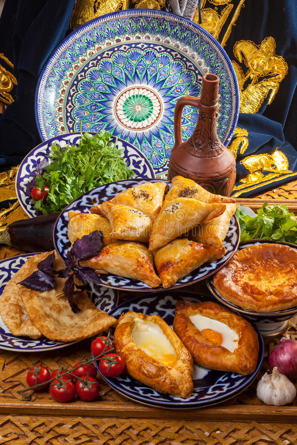 Free Caucasian Cuisine From Stove Stock Images - 71690154