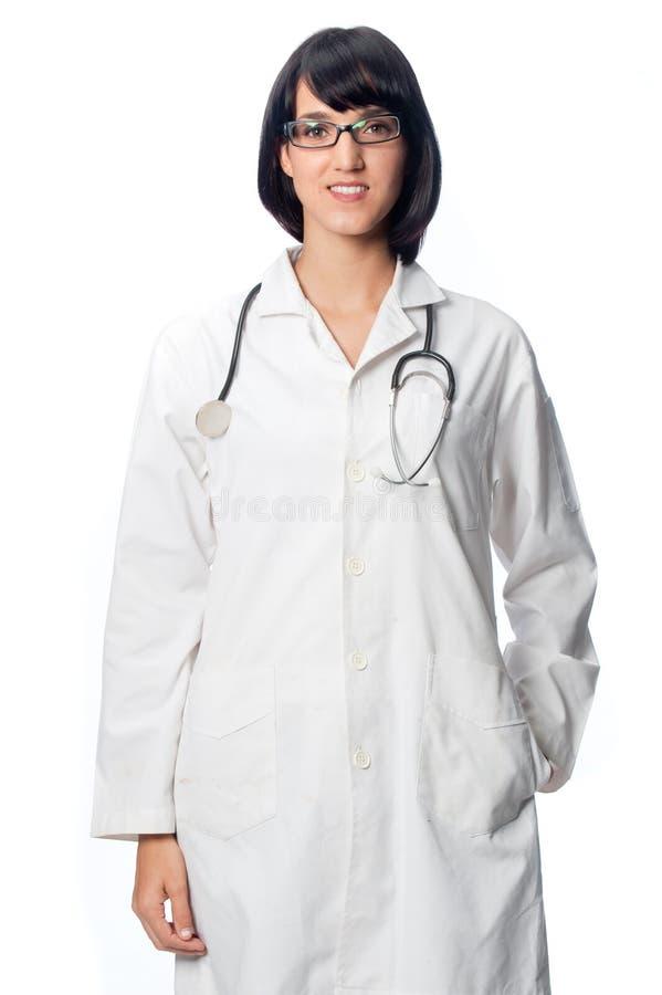 Caucasian doktor royaltyfri fotografi