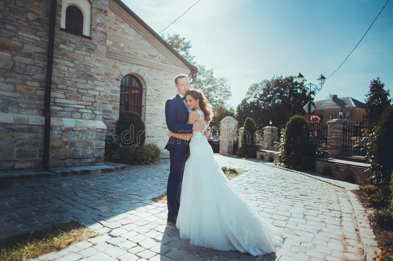 Download Caucasian Happy Romantic Young Couple Celebrating Their Marriage Stock Image - Image of family, love: 83721779