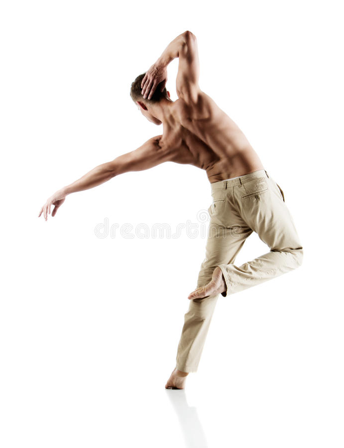 Download Caucasian Male Dancer Stock Photo - Image: 40247328