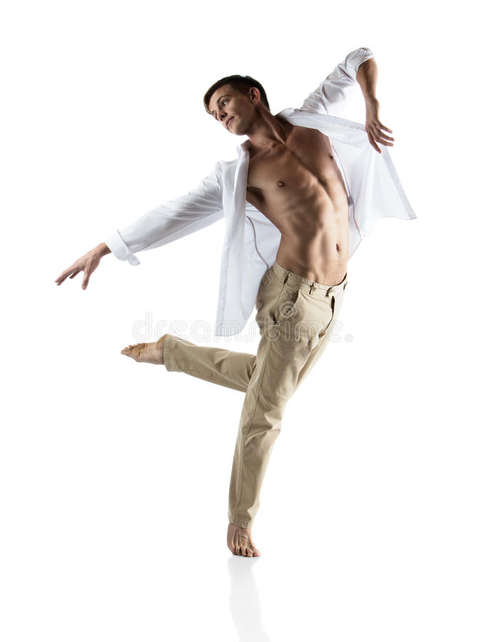 Download Caucasian Male Dancer Stock Photo - Image: 40247324