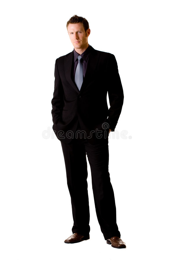 Download Caucasian Man In Suit And Tie Stock Image - Image of male, space: 6583515