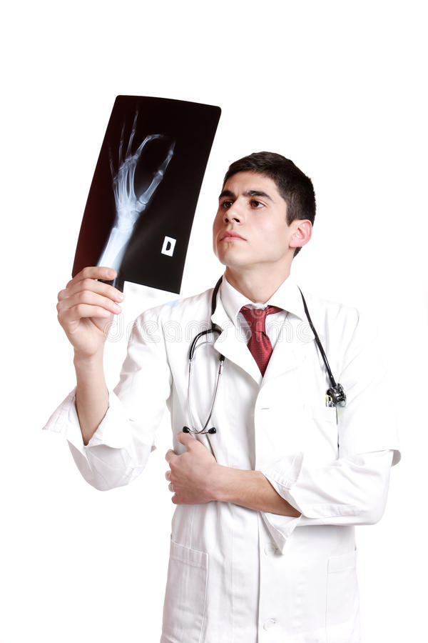 Download Caucasian Mid Adult Male Doctor Stock Photo - Image of healthcare, injury: 12354374