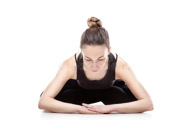 Download Caucasian Woman Exercising Pilates Stock Image - Image: 34050791