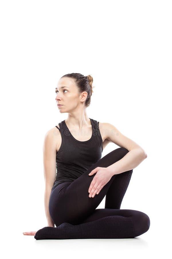 Download Caucasian Woman Exercising Pilates Stock Photo - Image: 34050800