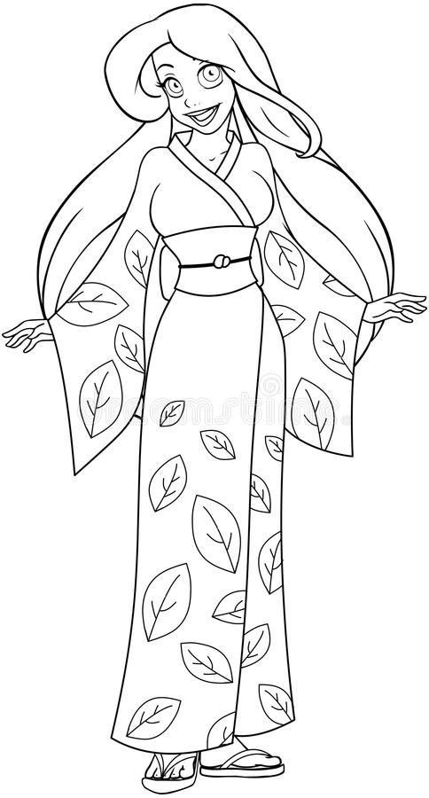 Free Japanese Coloring Pages, Download Free Clip Art, Free Clip Art on  Clipart Library | 900x484