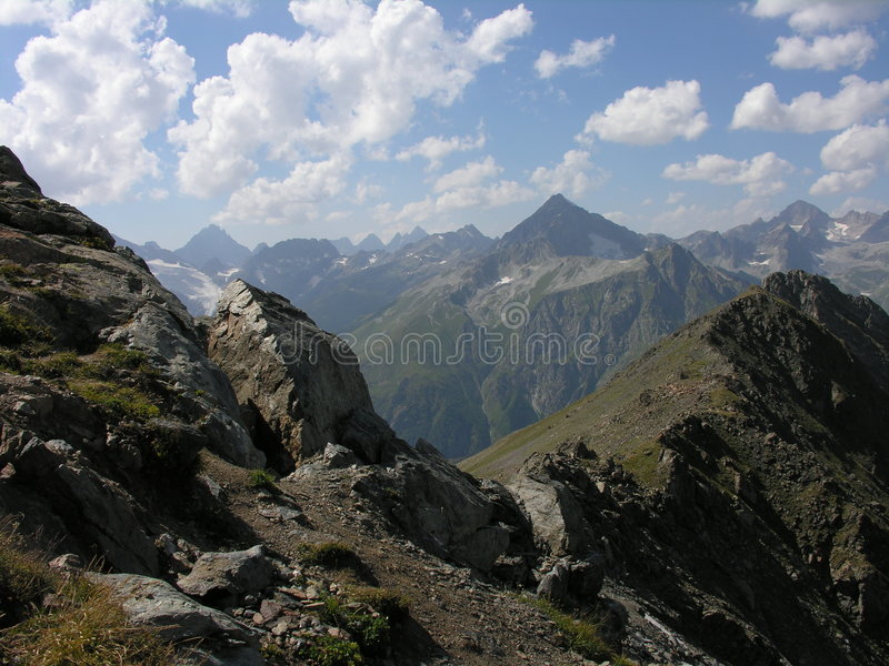 Caucaso del nord fotografia stock