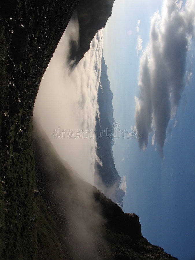 caucasus chmury obrazy stock