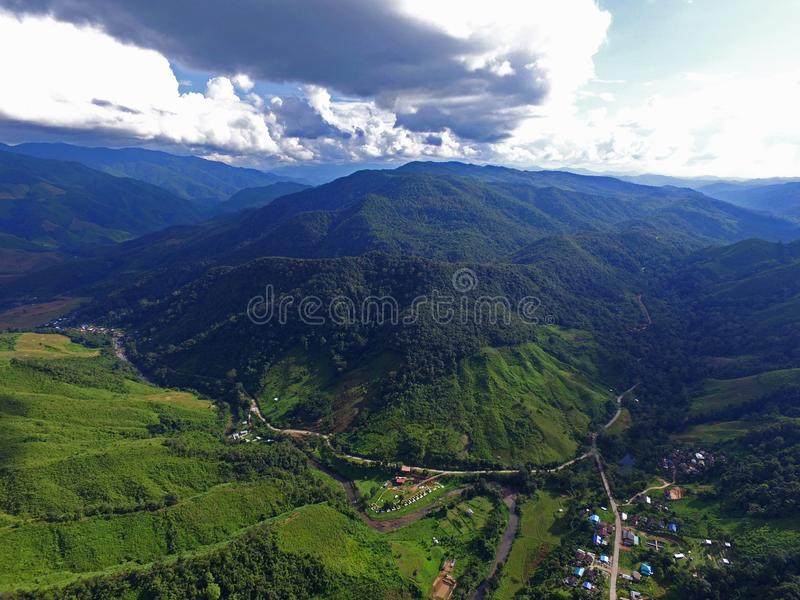 caucasus krajobrazu dombai charakteru lato zdjęcie stock