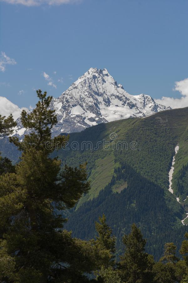 Download The Caucasus Mountains Are A Mountain System In West Asia Between The Black Sea And The Caspian Sea In The Caucasus Region. Stock Photo - Image of panoramic, mount: 103721096