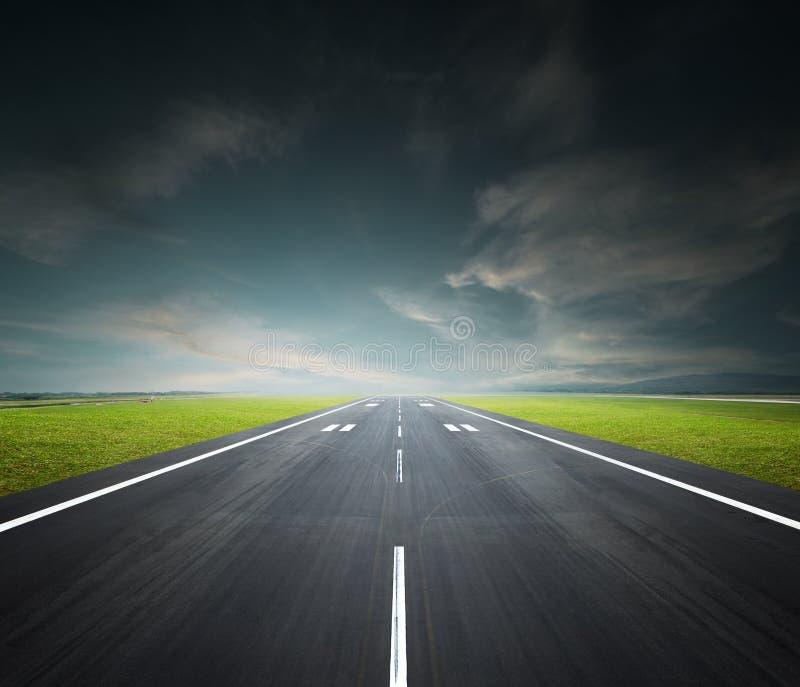 Cauce del aeropuerto imagenes de archivo