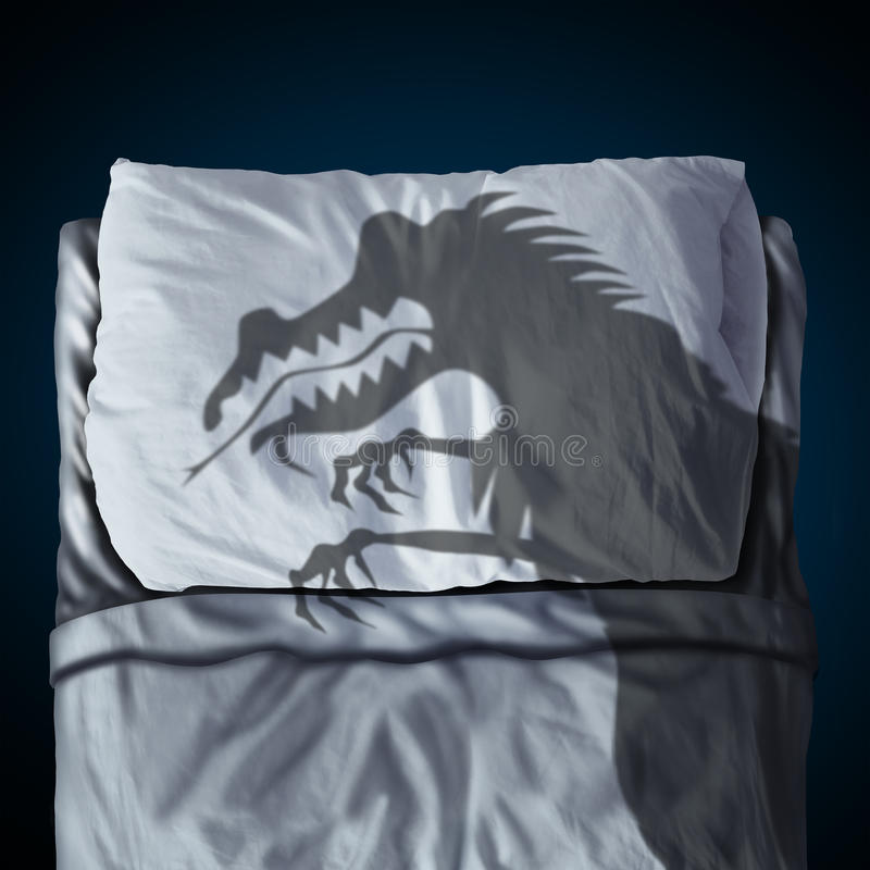 cauchemar illustration de vecteur