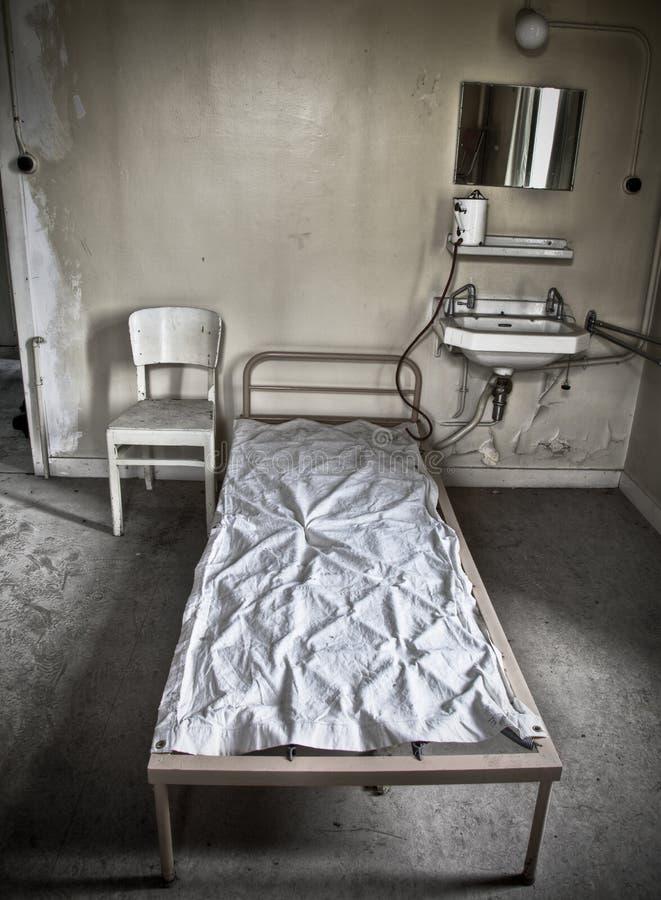 Cauchemar d'un patient photo stock