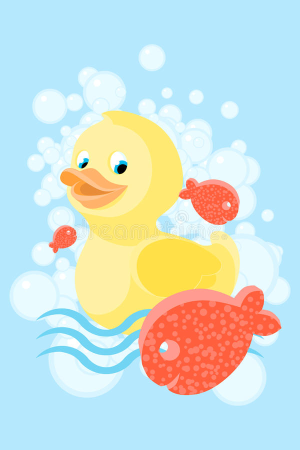 Caucho ducky libre illustration