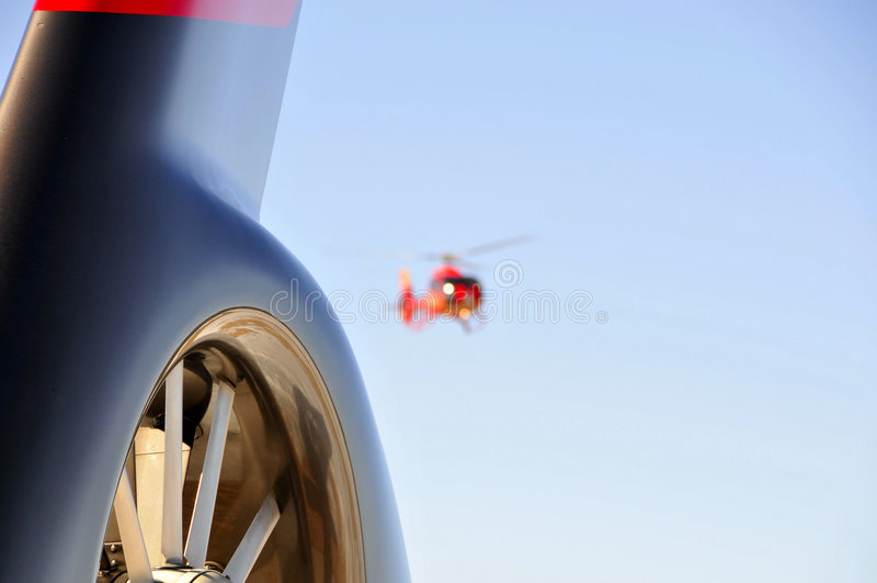 Cauda do helicóptero foto de stock royalty free