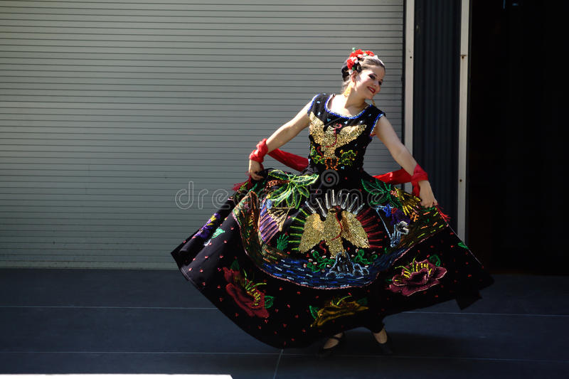 Caudillos Del Sur Mexican Folk Ballet photo stock