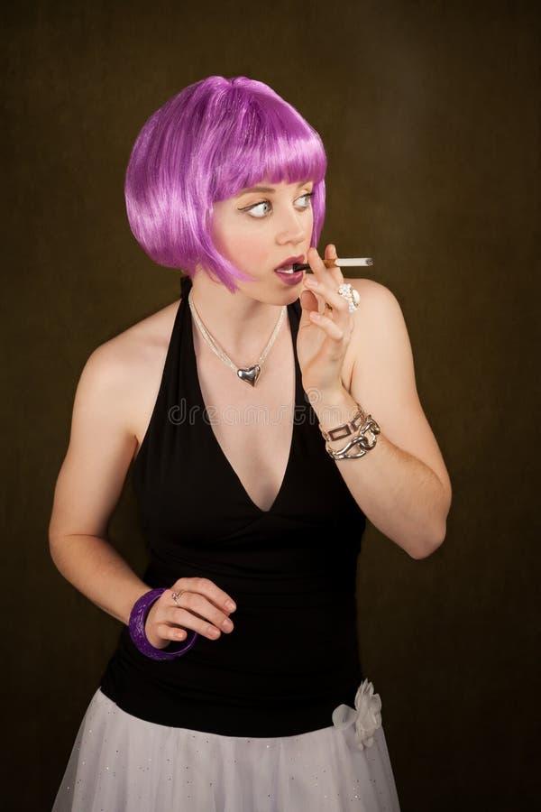 Download Caught Smoking stock image. Image of beautiful, smoke - 14583153