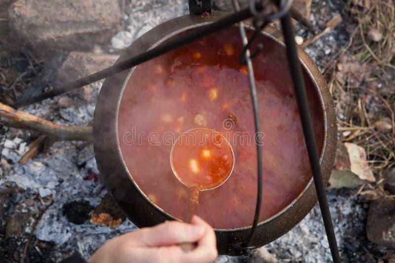 Cauldron royalty free stock image