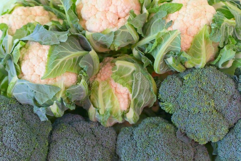 cauliflower брокколи стоковые изображения rf