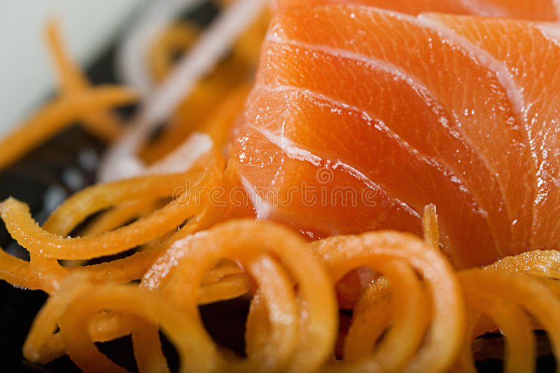 Causa Teisyoku del sashimi immagini stock