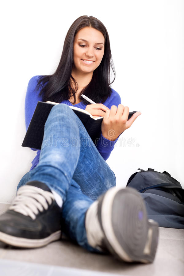 Download Causal high school student stock image. Image of student - 21746589