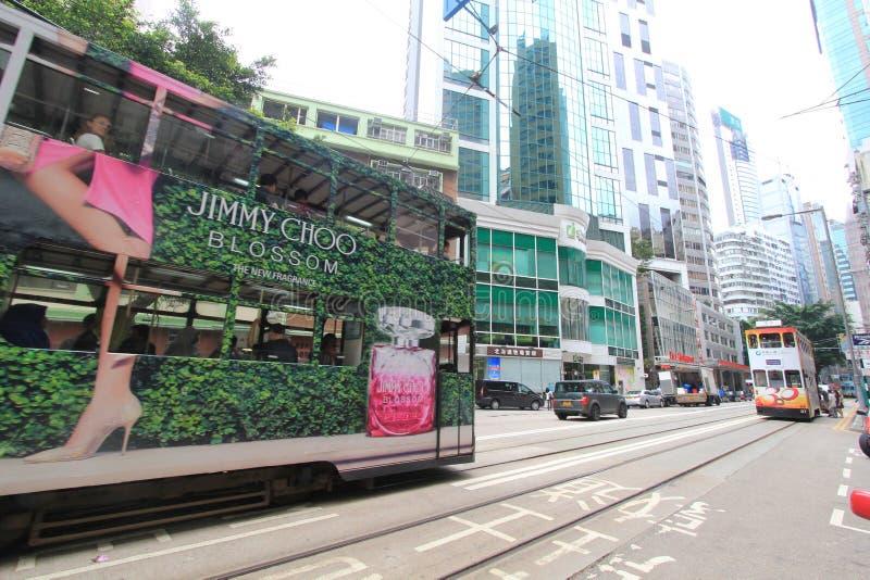 Causeway Bay street view in Hong Kong. Street view in Causeway Bay, Hong Kong. Causeway Bay is a heavily built-up area of Hong Kong, located on Hong Kong Island stock images