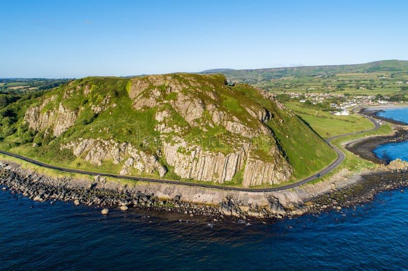 Causeway Küstenroute in Nordirland, Vereinigtes Königreich stockfoto