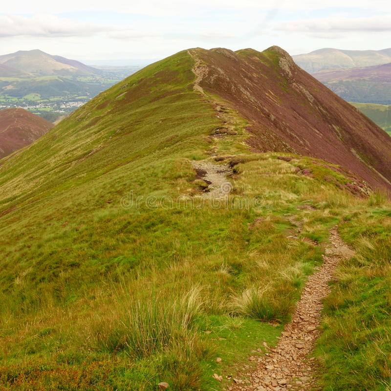 Causey Pike royalty free stock images