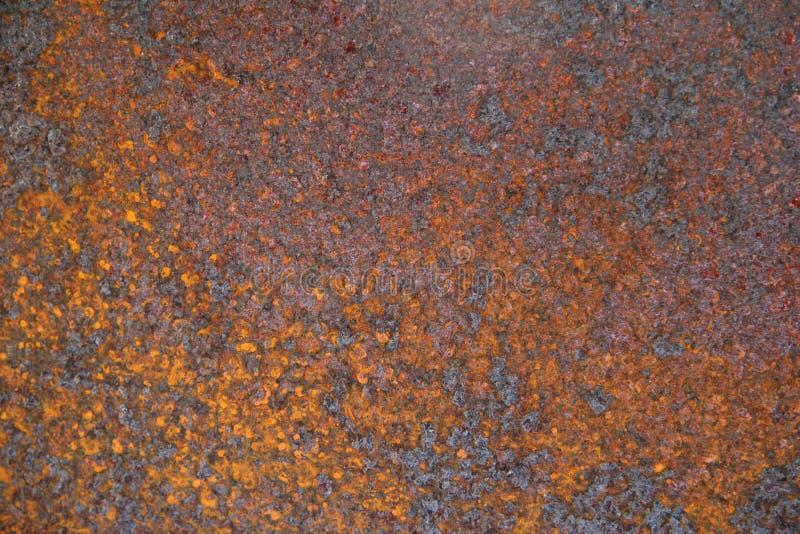 causticmetall rostade arkivbild