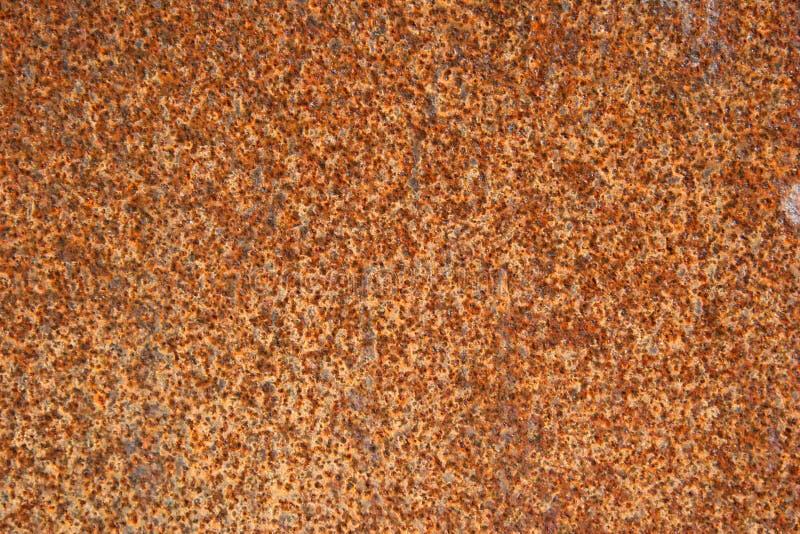 causticmetall rostade arkivfoton