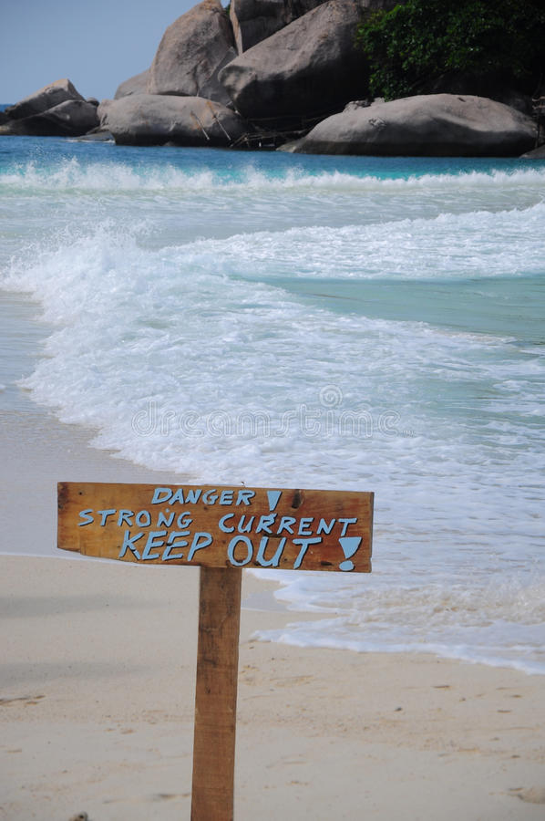 Download Caution stock image. Image of warning, tropic, white - 24591419