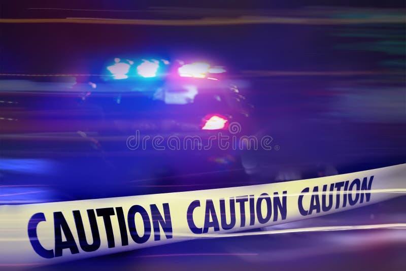 Caution - crme scene. Do not cross tape background stock photos