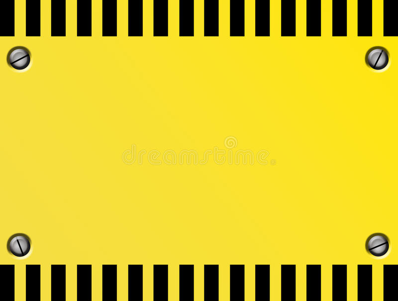 Download Caution  Plate stock illustration. Image of durable, grid - 14647894