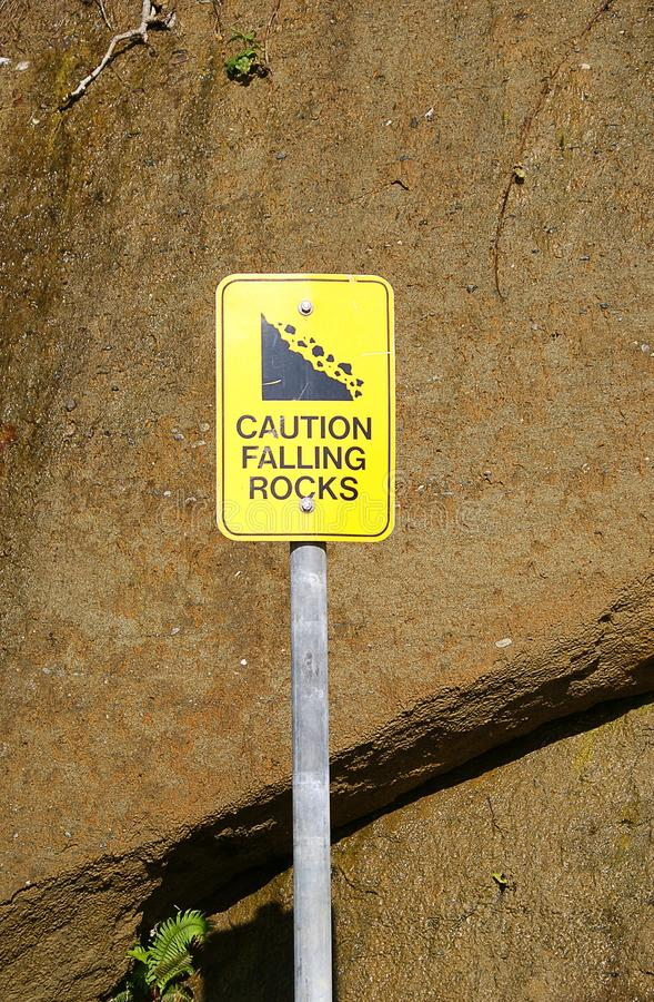 Free Caution Sign Stock Photo - 14345630