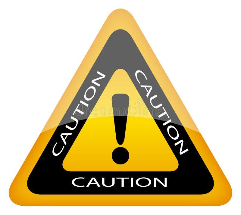 Download Caution sign stock vector. Image of dangerous, logo, failure - 20777048