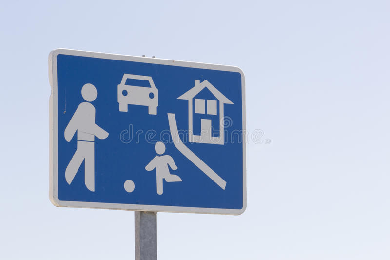 Download Caution sign stock image. Image of symbol, crossing, safety - 25243361