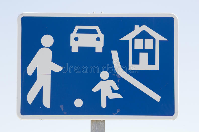 Download Caution sign stock photo. Image of area, protection, crossing - 25243450