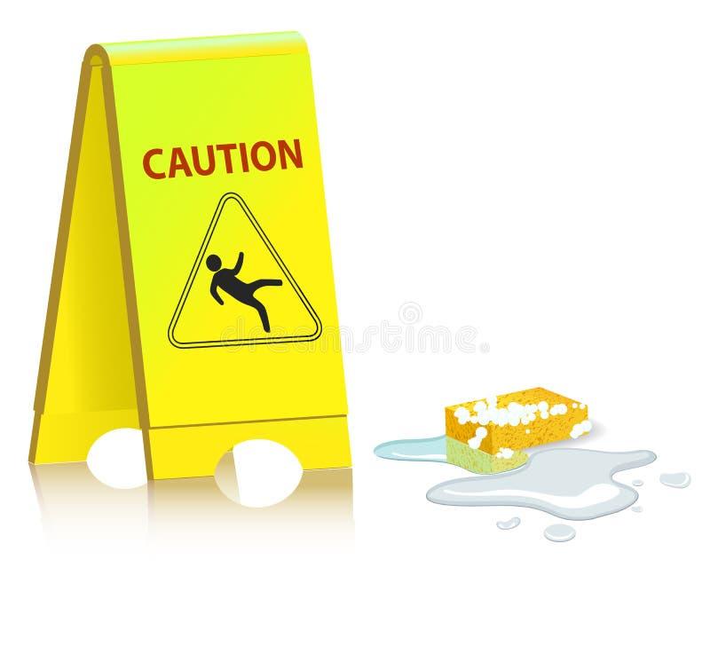 Caution vector illustration