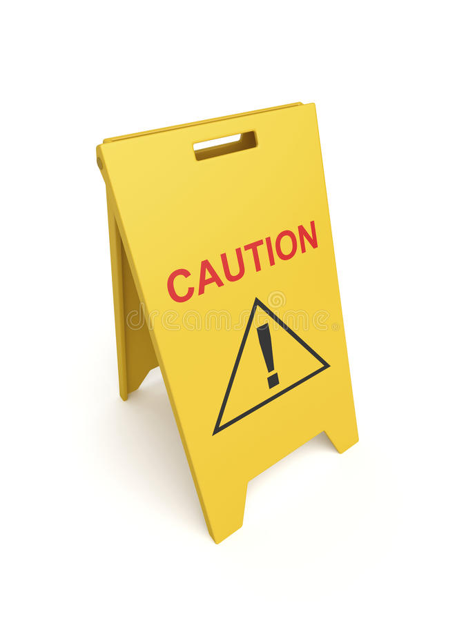 Download Caution sign stock illustration. Image of mark, precaution - 30635221
