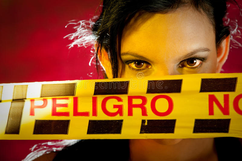 Download Caution tape stock photo. Image of latin, tape, dangerous - 24737338