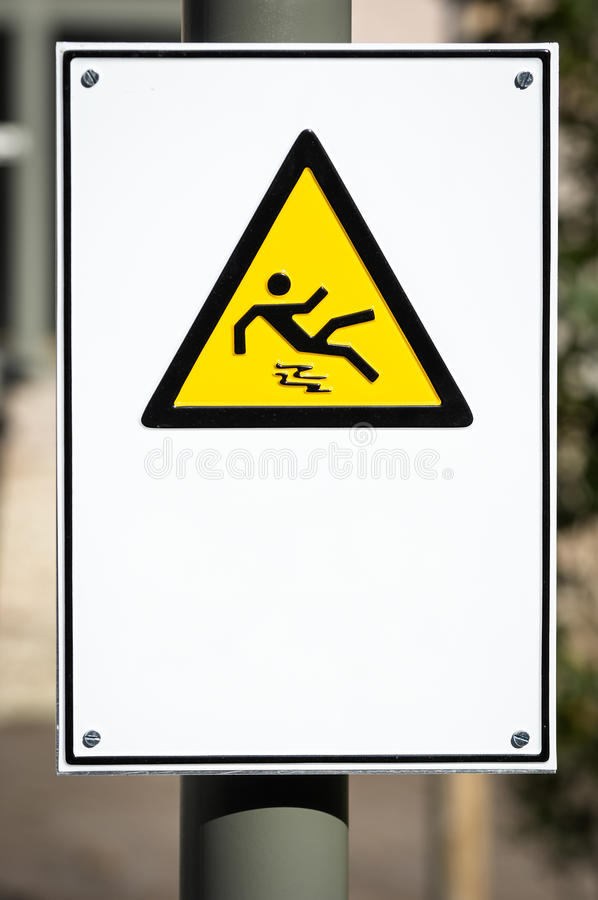 Download Caution wet floor sign stock photo. Image of view, single - 28409388