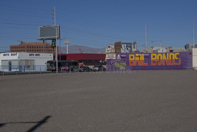 Cautionnements de Las Vegas photos stock