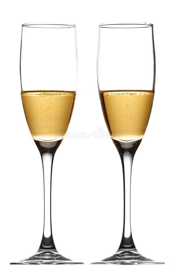 cava champagne royaltyfri fotografi