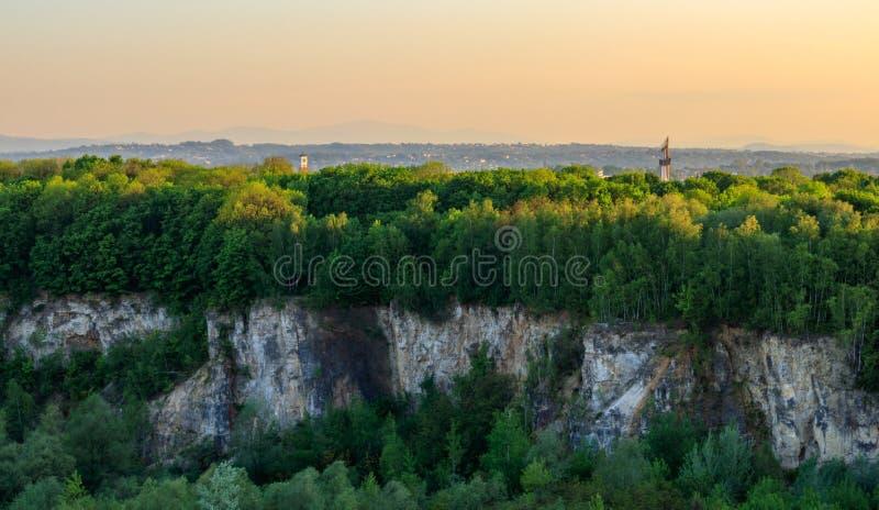 Cava del Libano a Cracovia fotografia stock