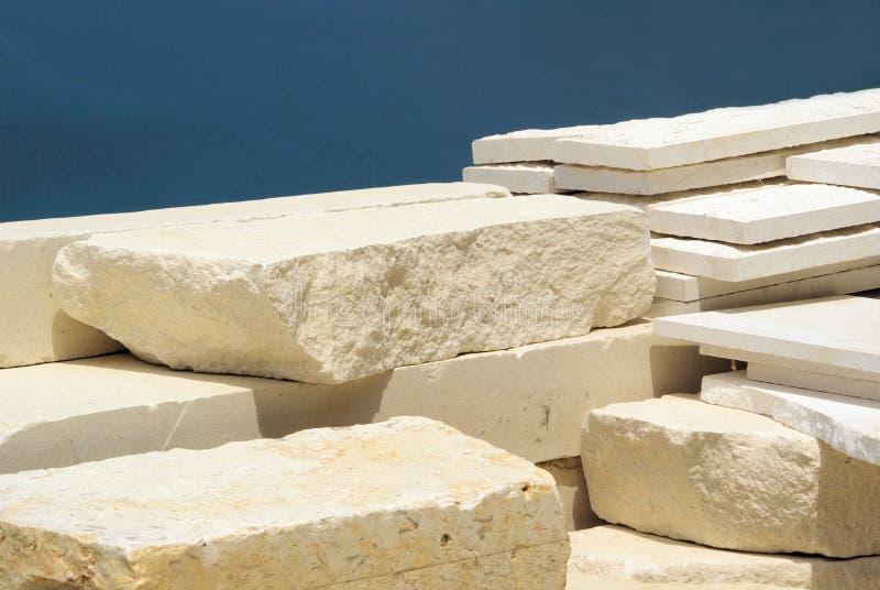 Cava di marmo immagini stock libere da diritti