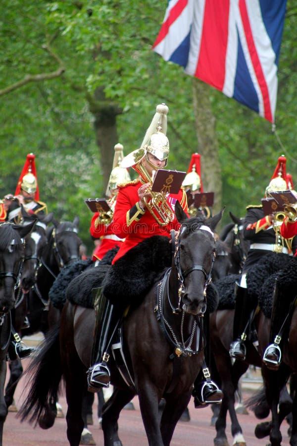 A cavalaria do agregado familiar une-se foto de stock