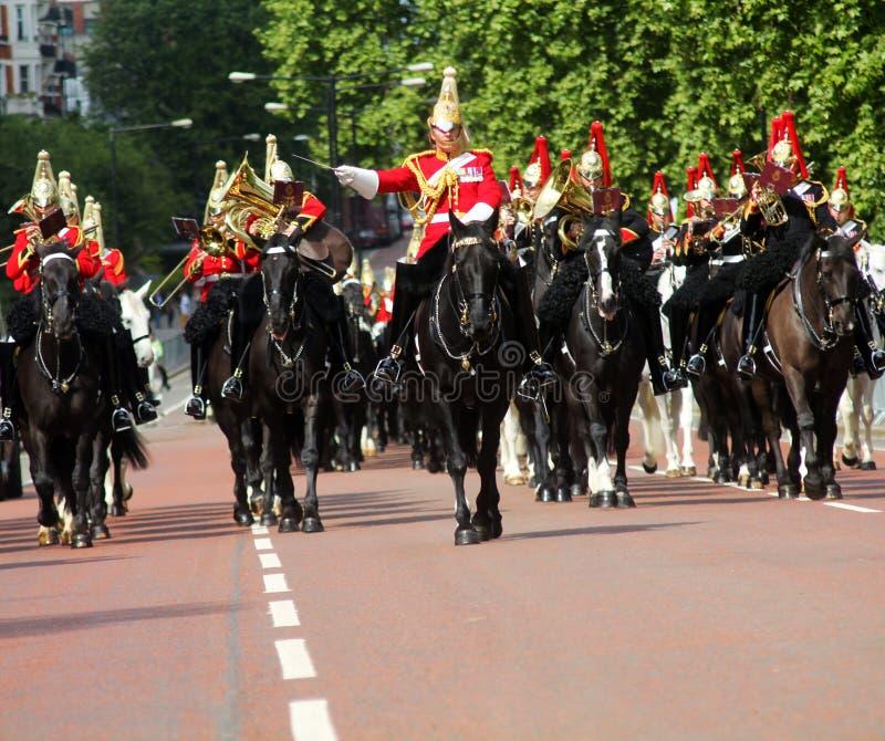 A cavalaria do agregado familiar une-se fotos de stock